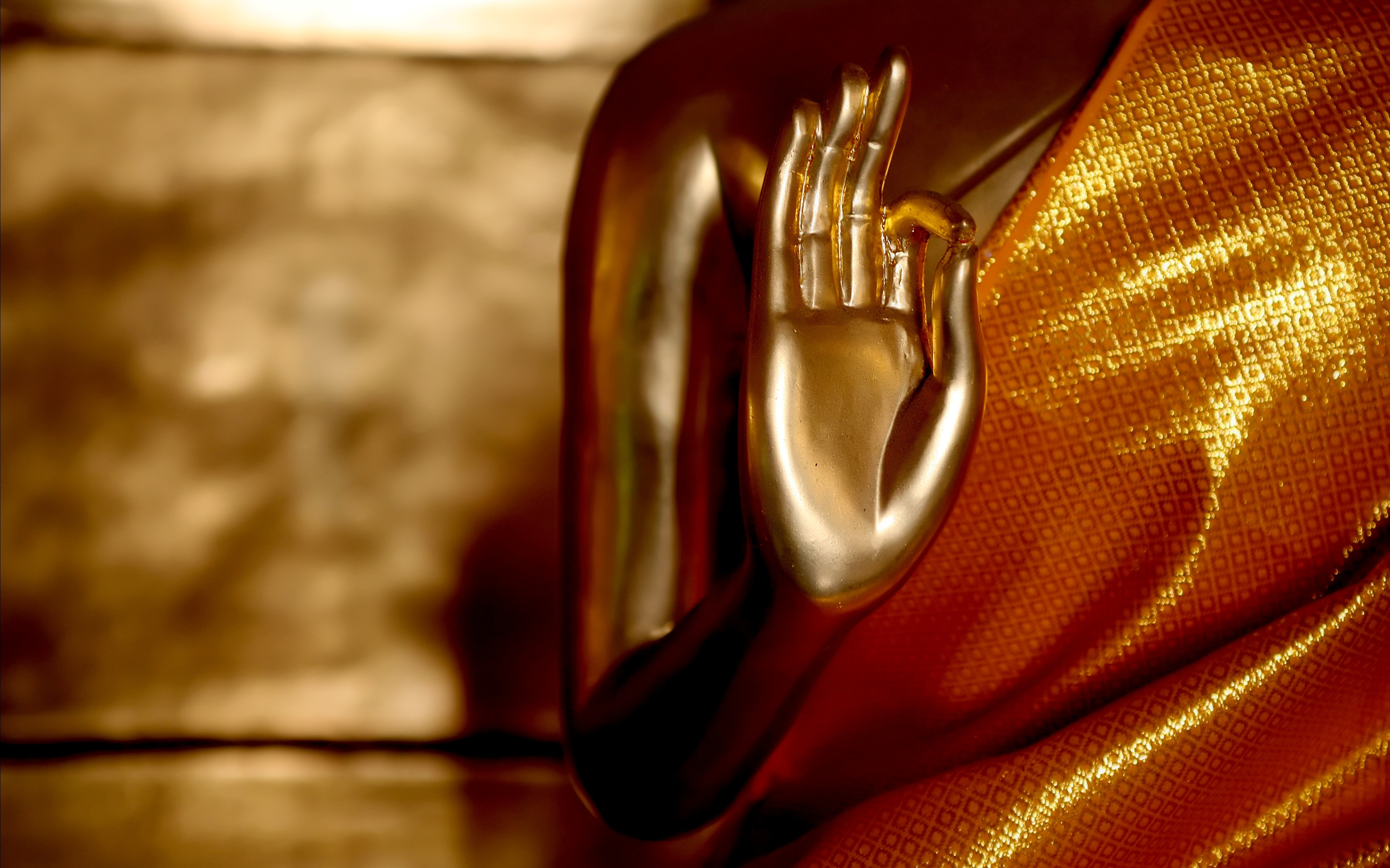 The Golden Light Of The Gautama Buddha