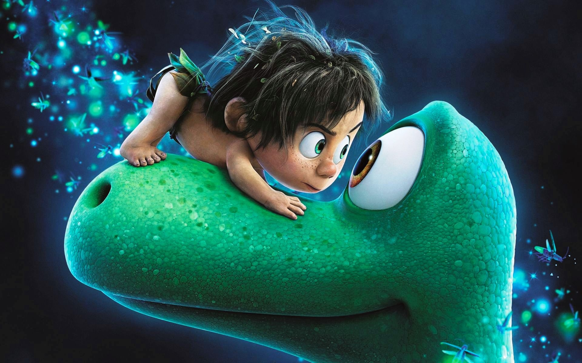 The Good Dinosaur 2015 Poster