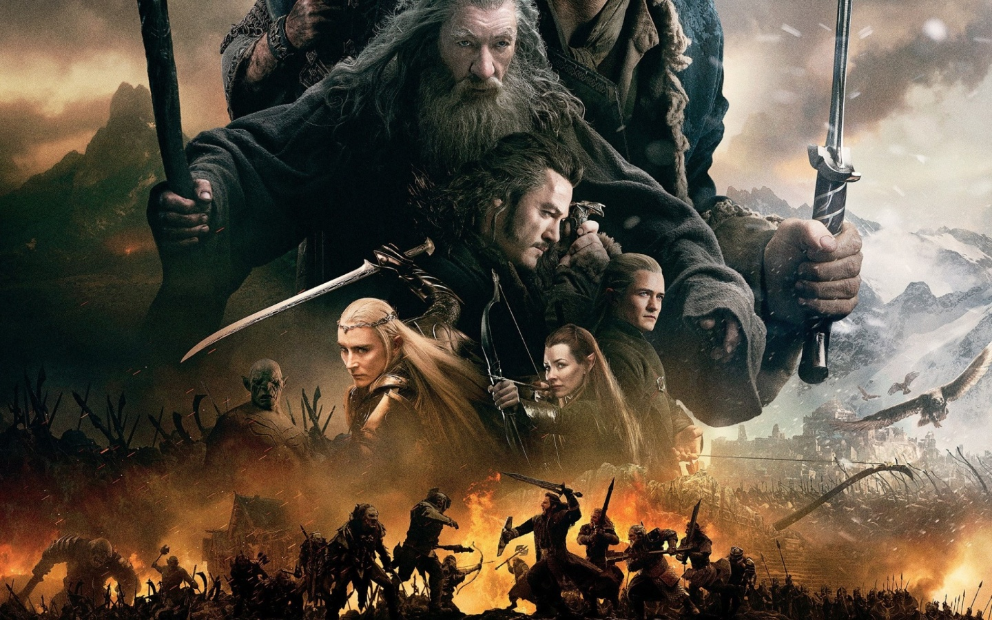 The Hobbit The Battle Of The Five Armies War