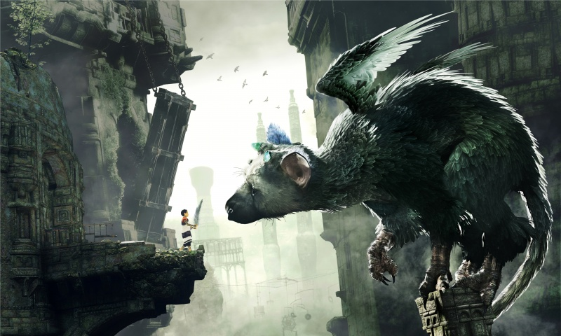 The Last Guardian Gameplay
