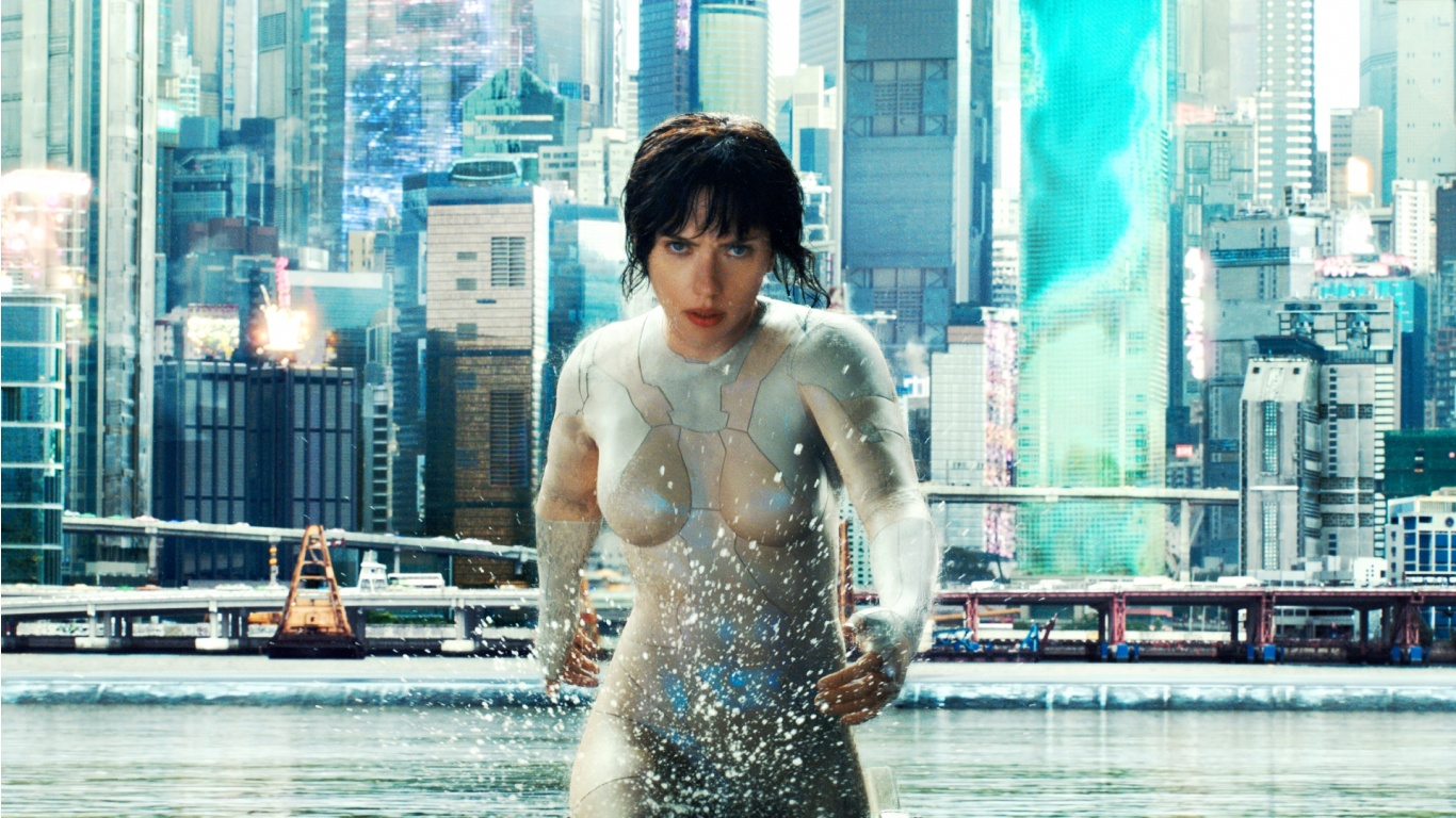 The Major Ghost In The Shell