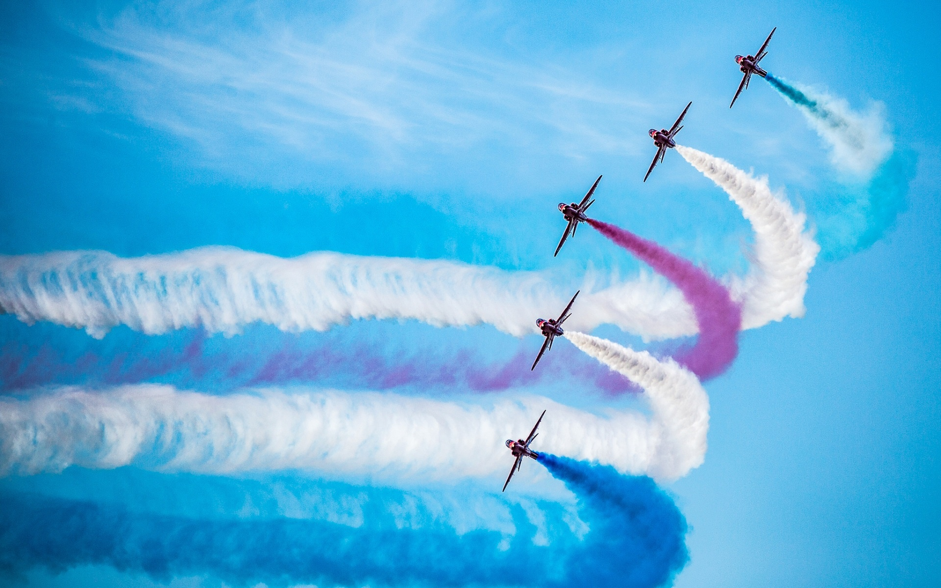 The Red Arrows Royal Air Force