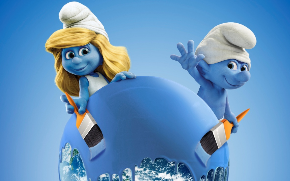 The Smurfs 2 Cartoon