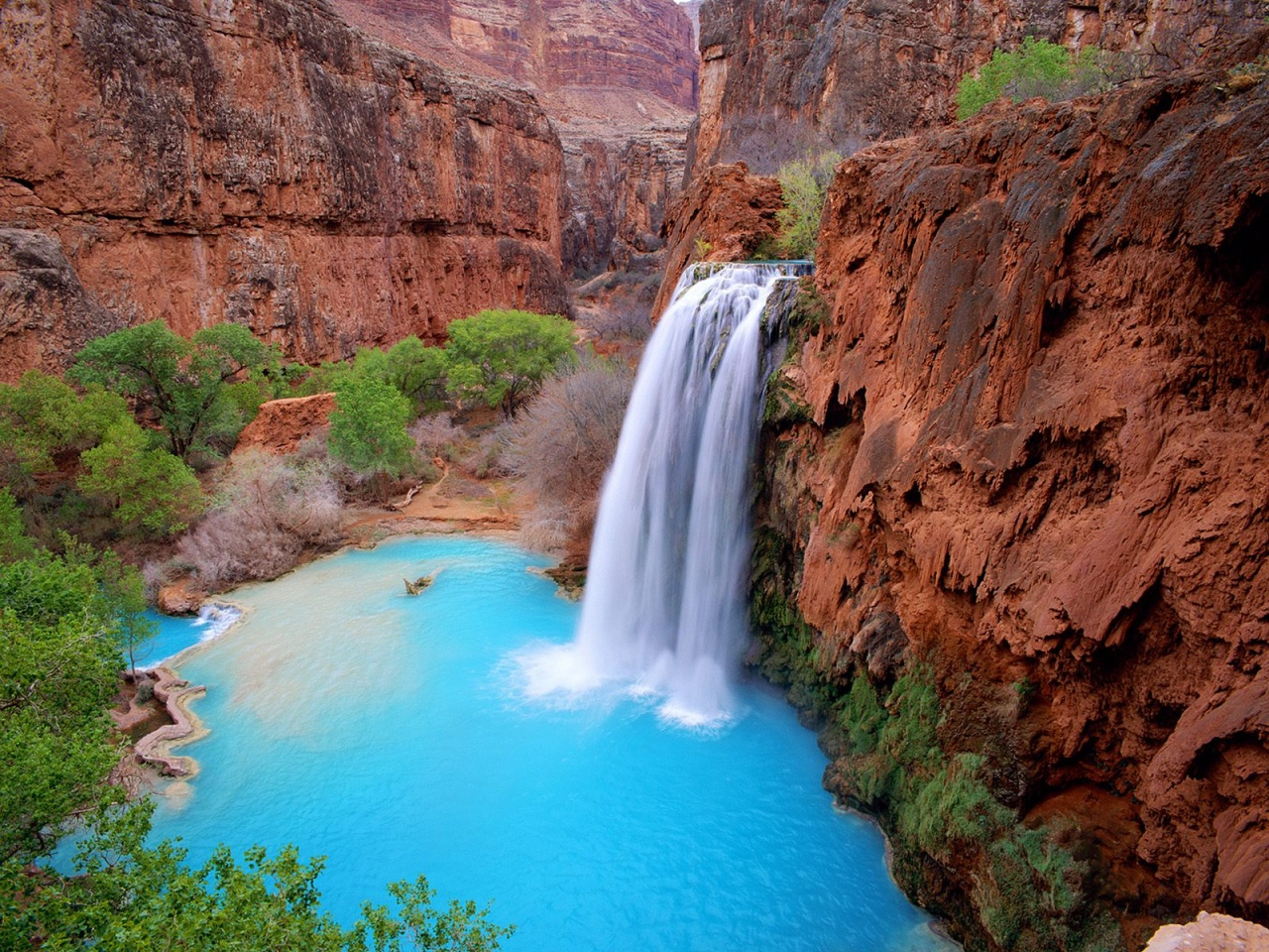The Waterfalls of Havasupai