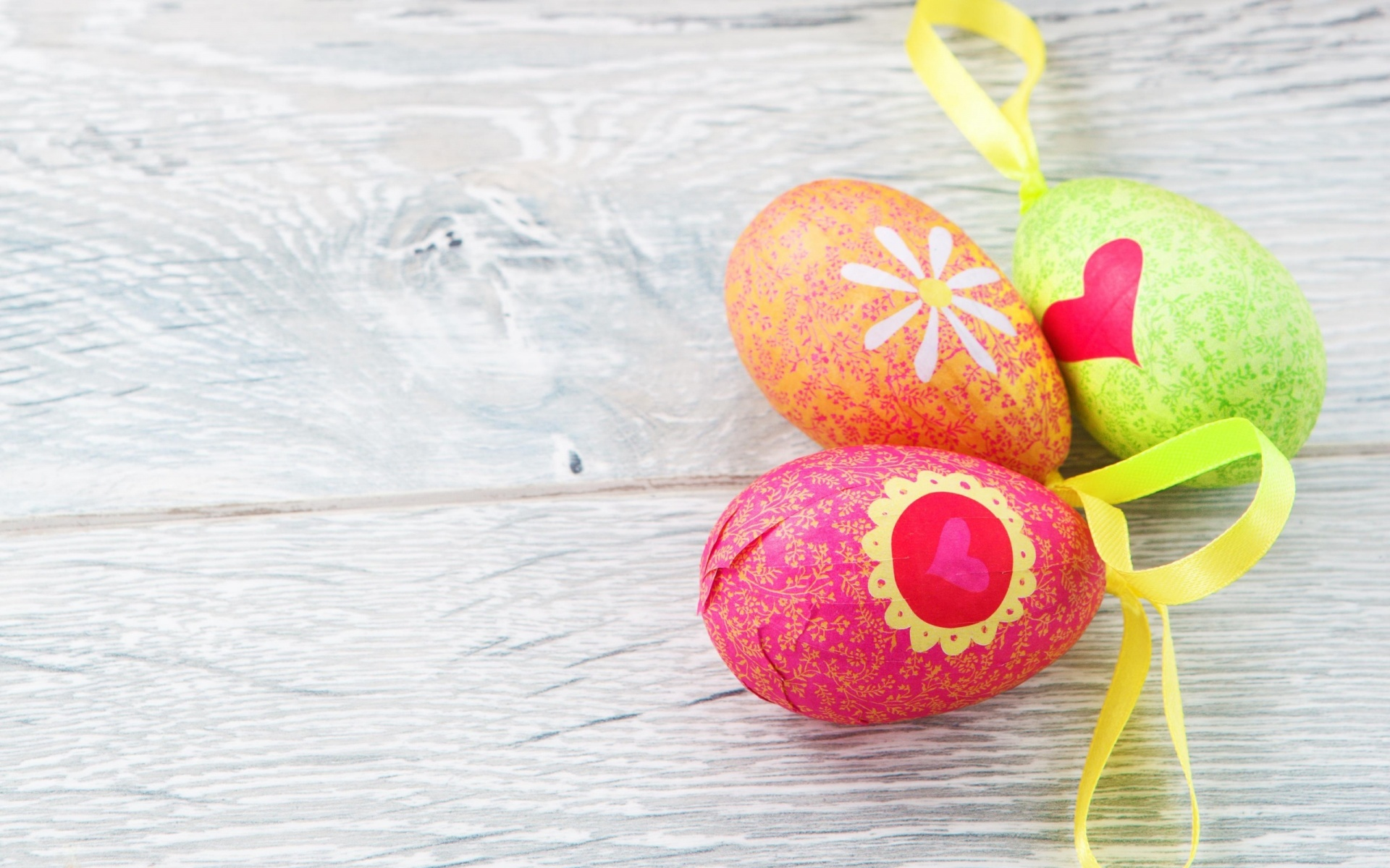 Three Decorated Eggs