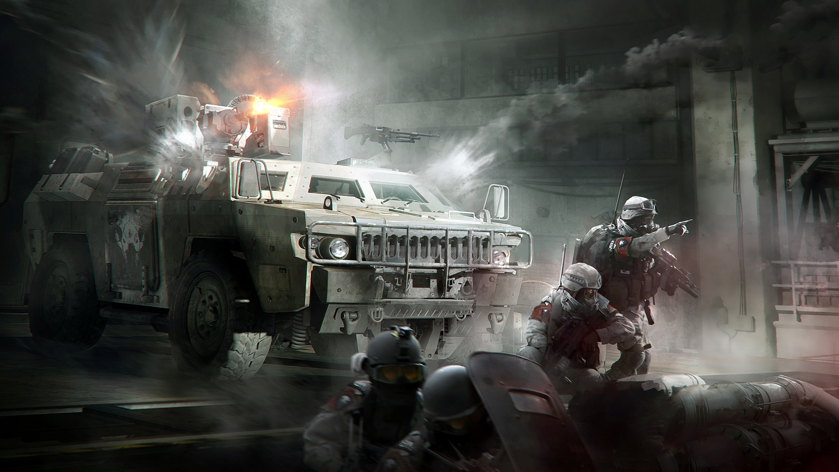 Tom Clancy S The Division Incursions Tank Boss Concept Art