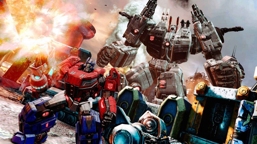 Transformers Fall Of Cybertron Screenshots