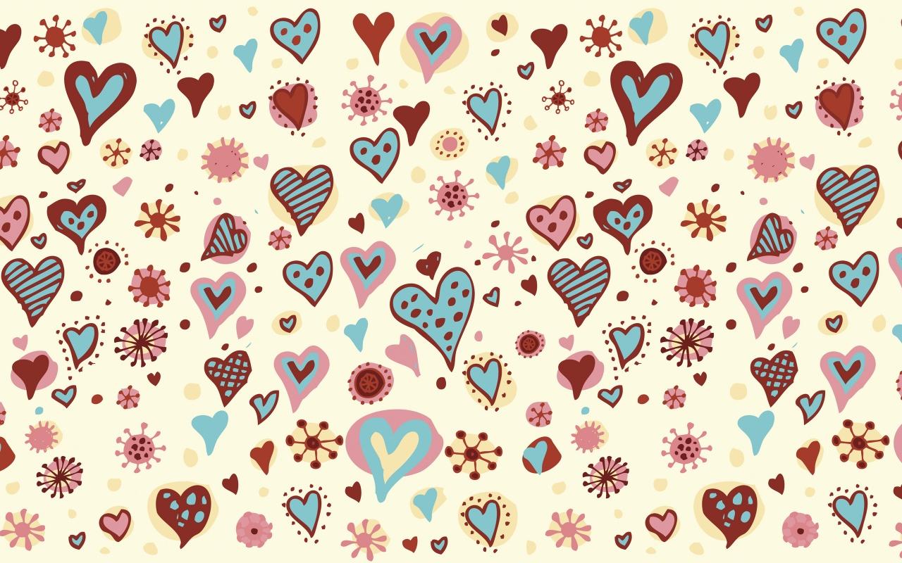 wallpaper texture hearts 1280 - photo #7
