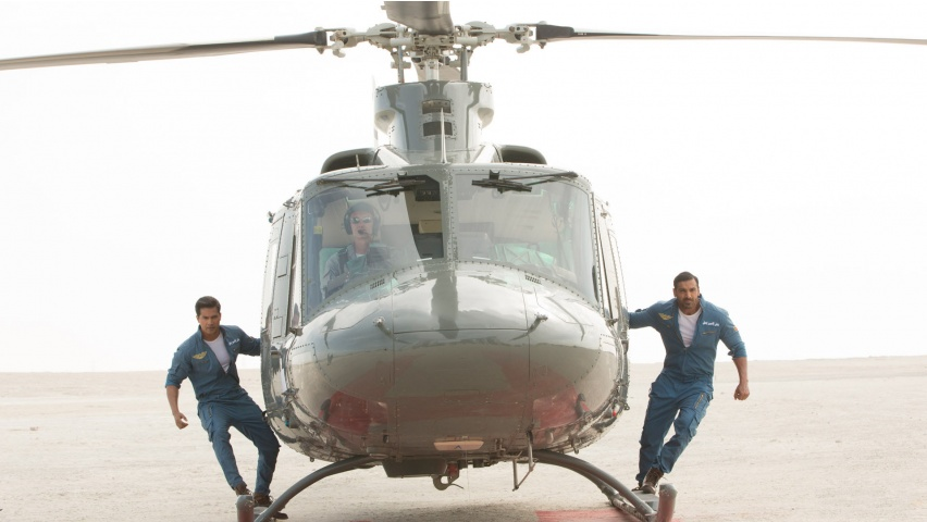 Varun Dhawan And John Abraham In Dishoom
