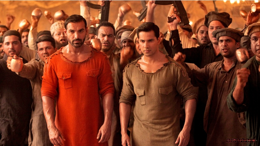 Varun Dhawan And John Abraham In Dishoom 2016