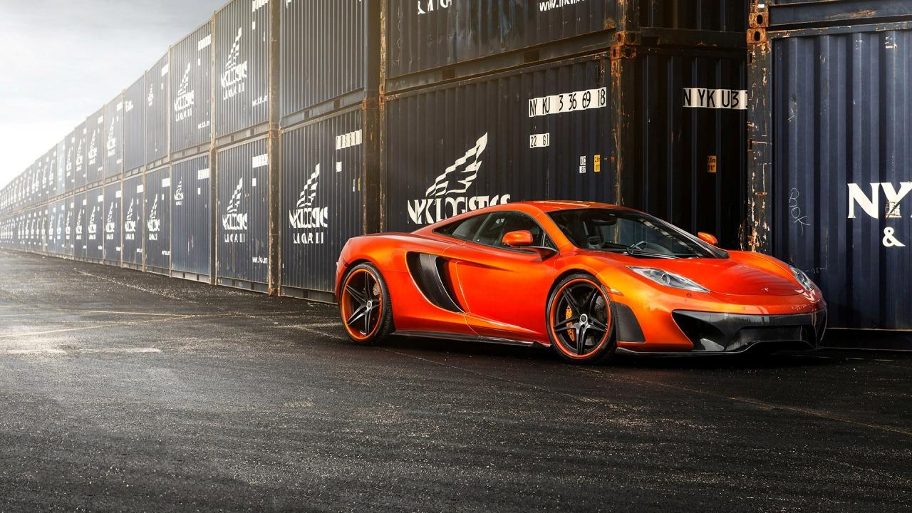 Vorsteiner McLaren MP4-VX Returns in Volcano Orange