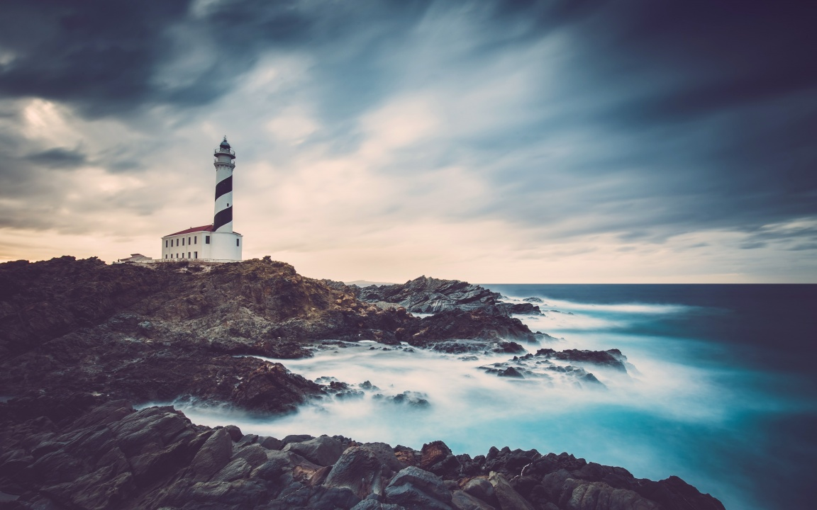 White Lighthouse