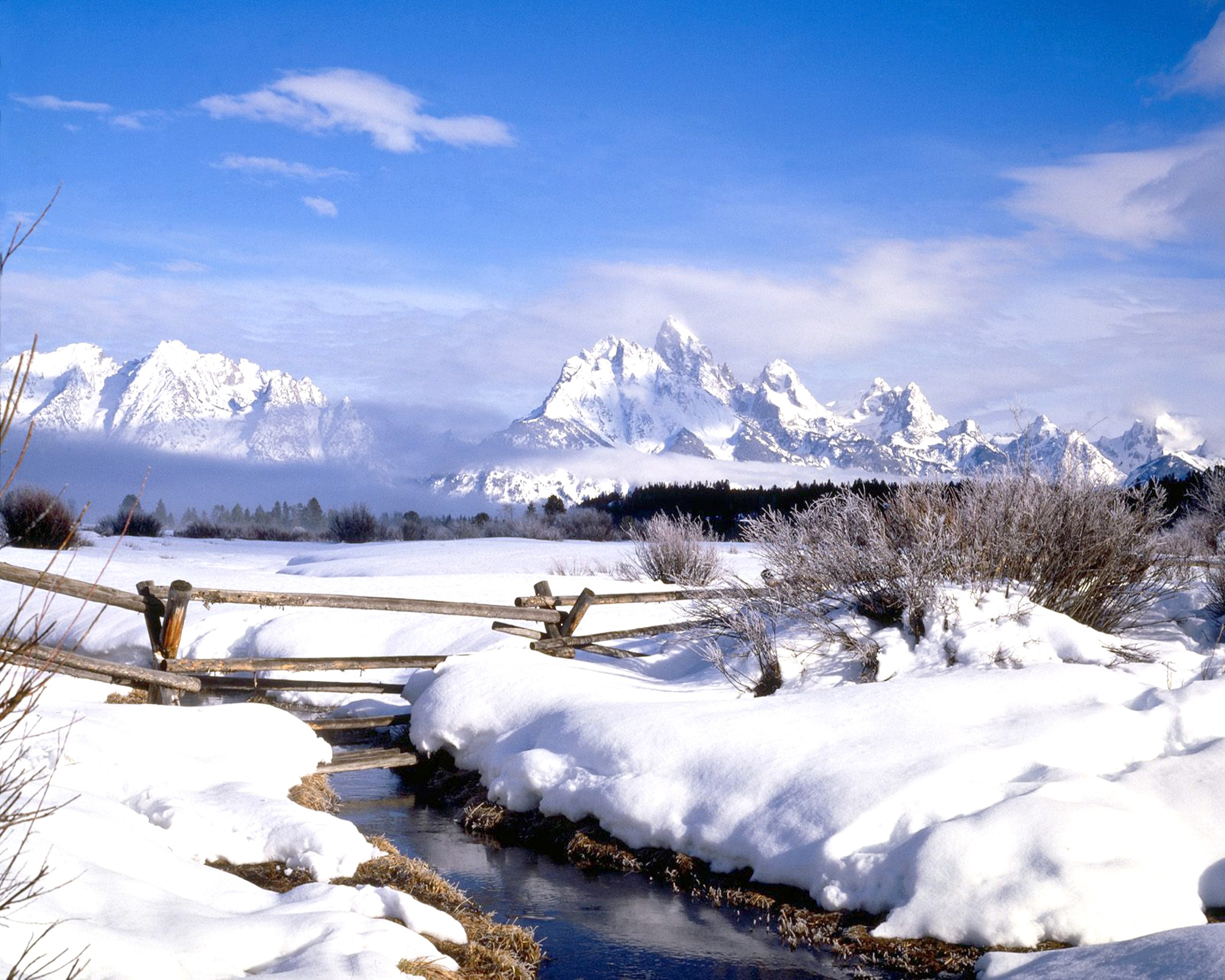Winter Wyoming