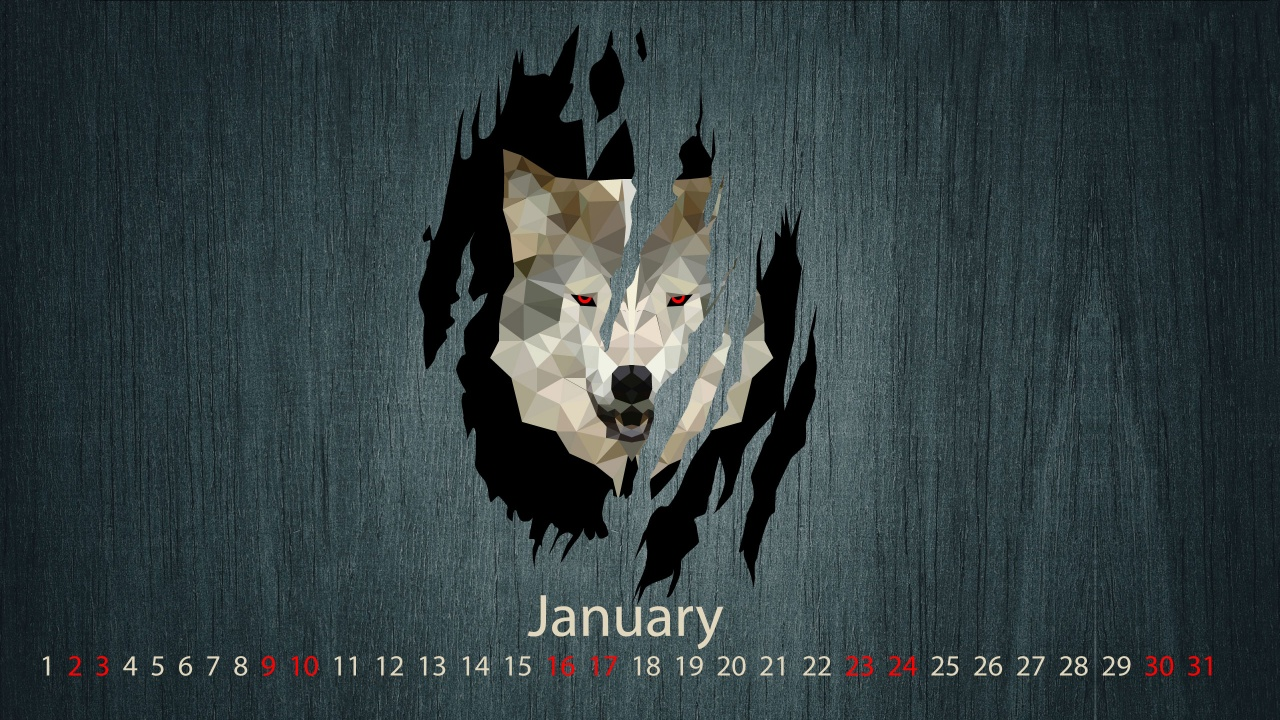Wolf-Month January 2016