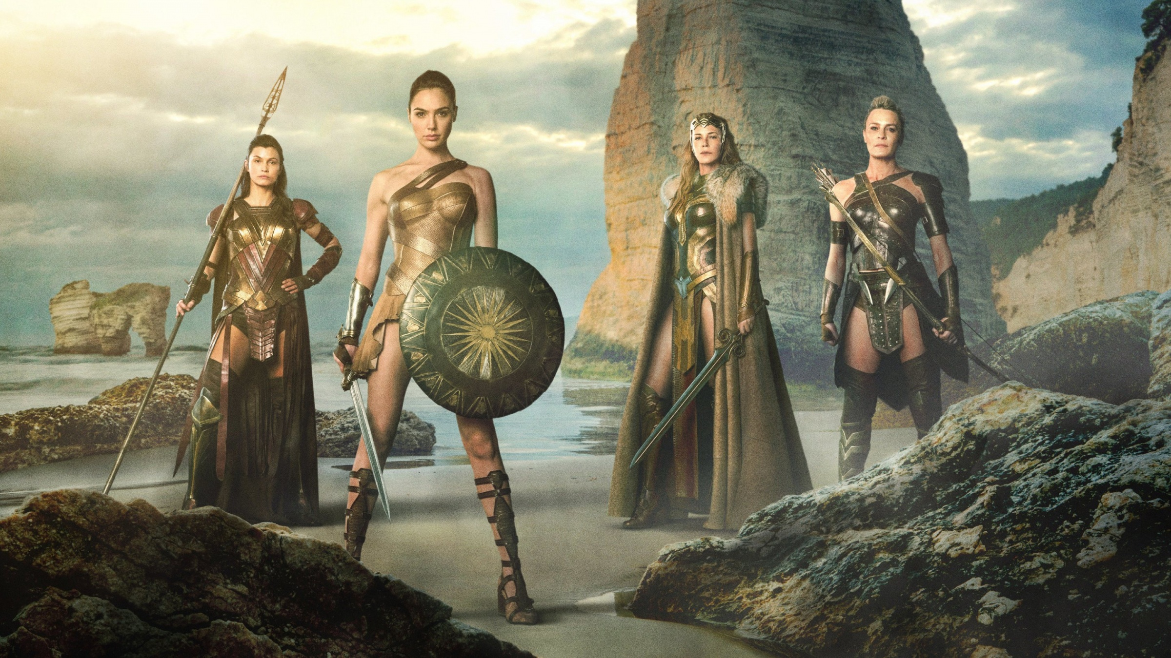 Wonder Woman 2017 Movie Stills Wallpapers - 2400x1350 ...