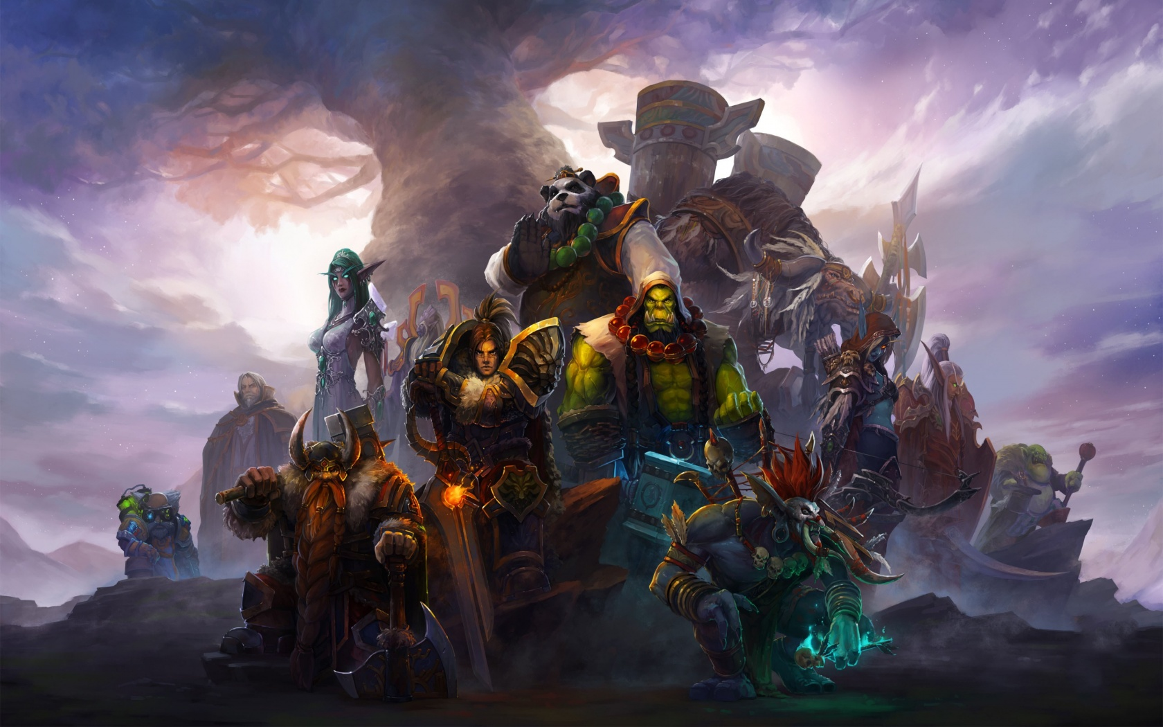 World Of Warcraft Characters