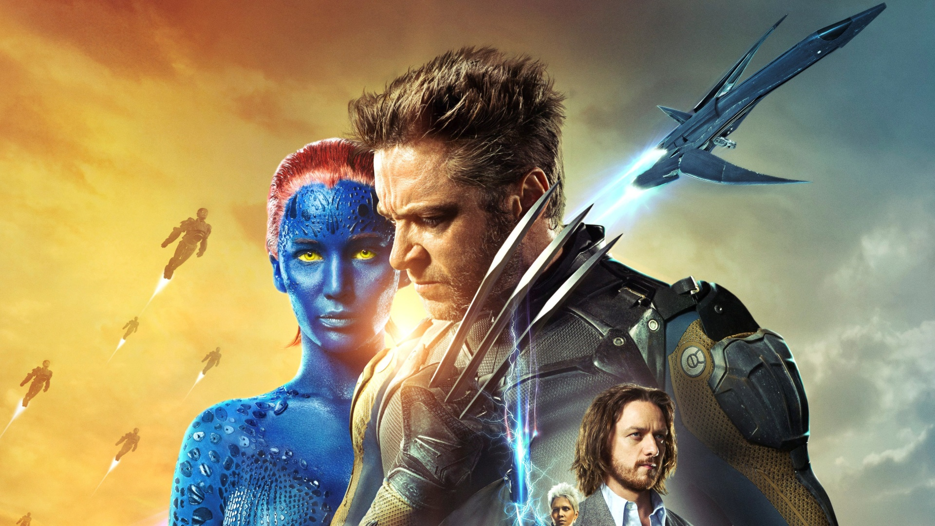 X-Men: Days Of Future Past Superheroes