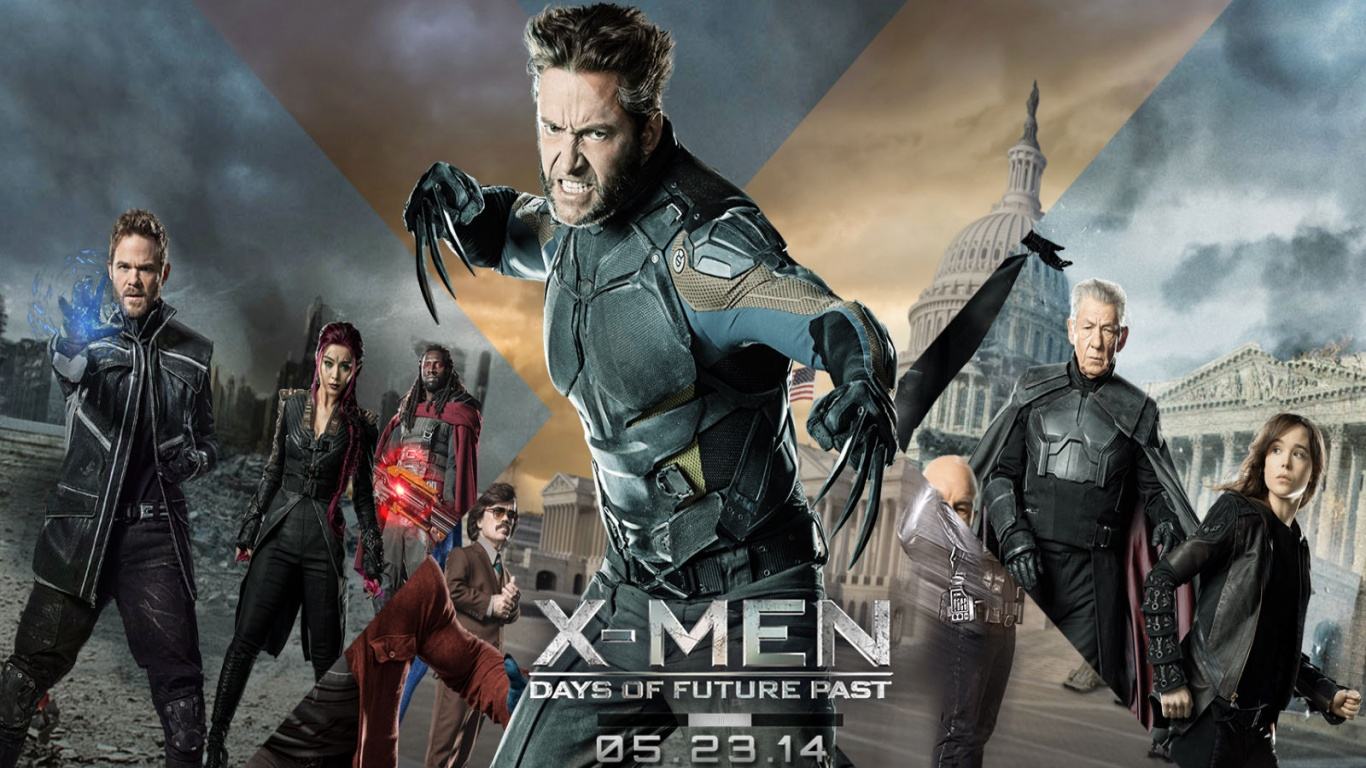 Men Days Of Future Past   1366 x 768   Download   CloseX Men Quicksilver Days Of Future Past