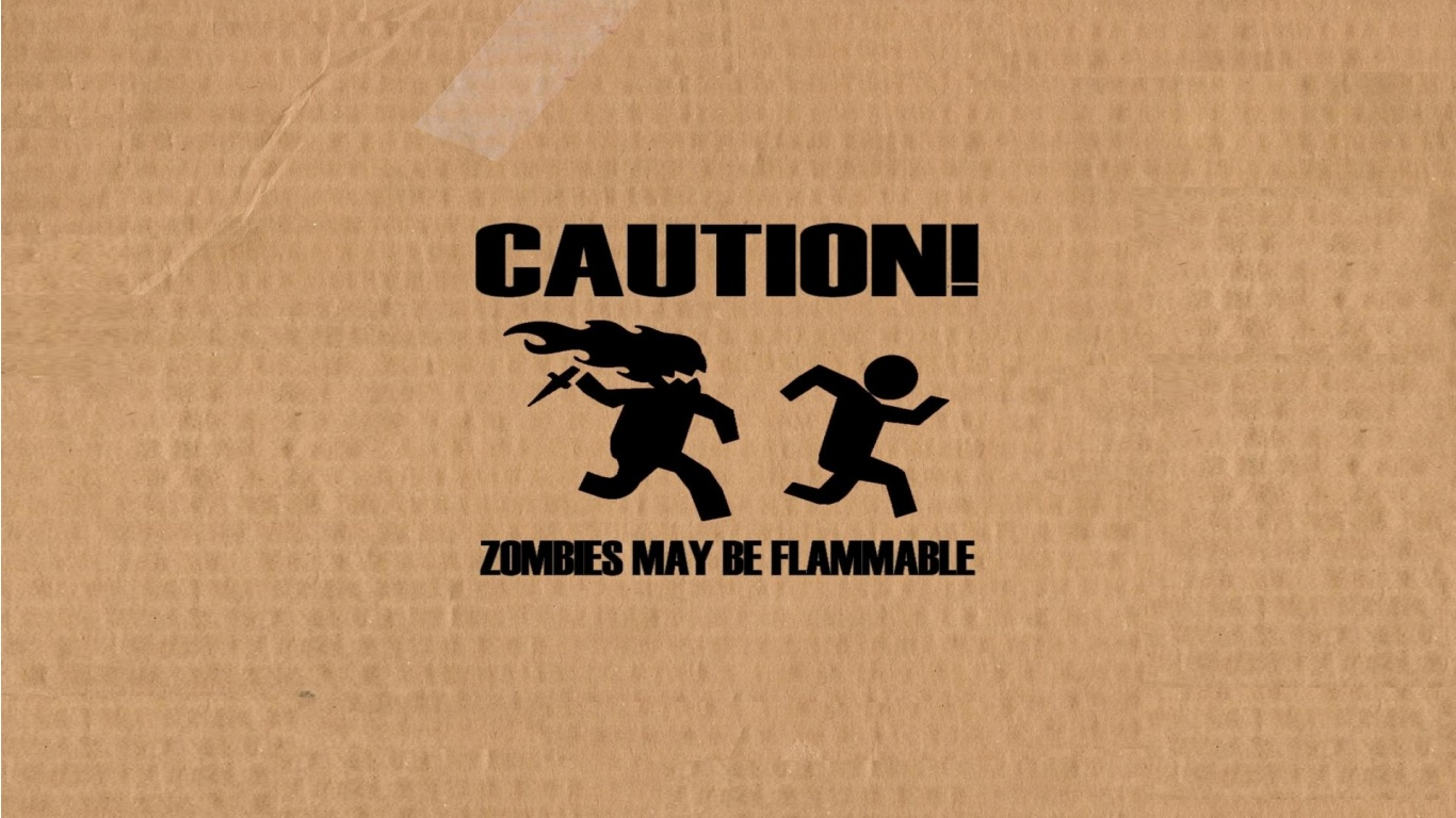 Zombies Funny Wallpapers - 1366x768 - 306042
