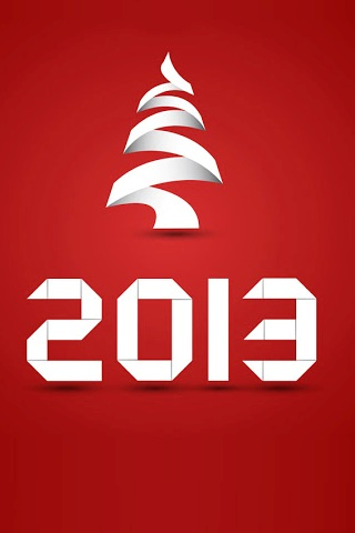 2013 Red Background