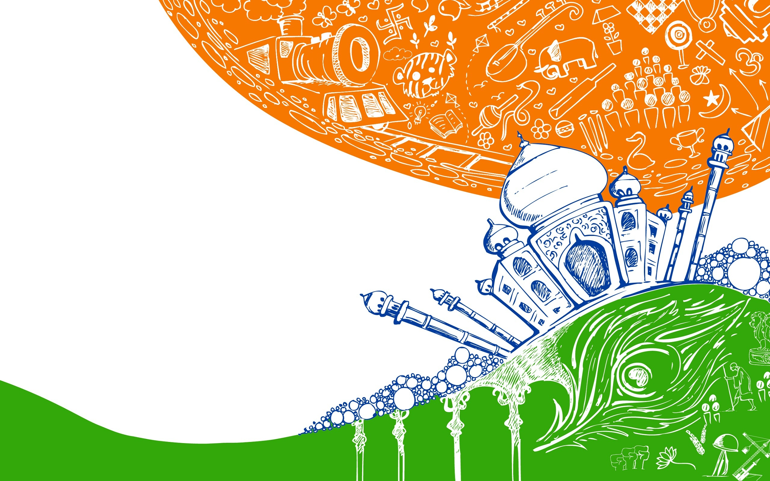26 January Republic Day 2014 Wallpapers - 2560x1600 - 1122776
