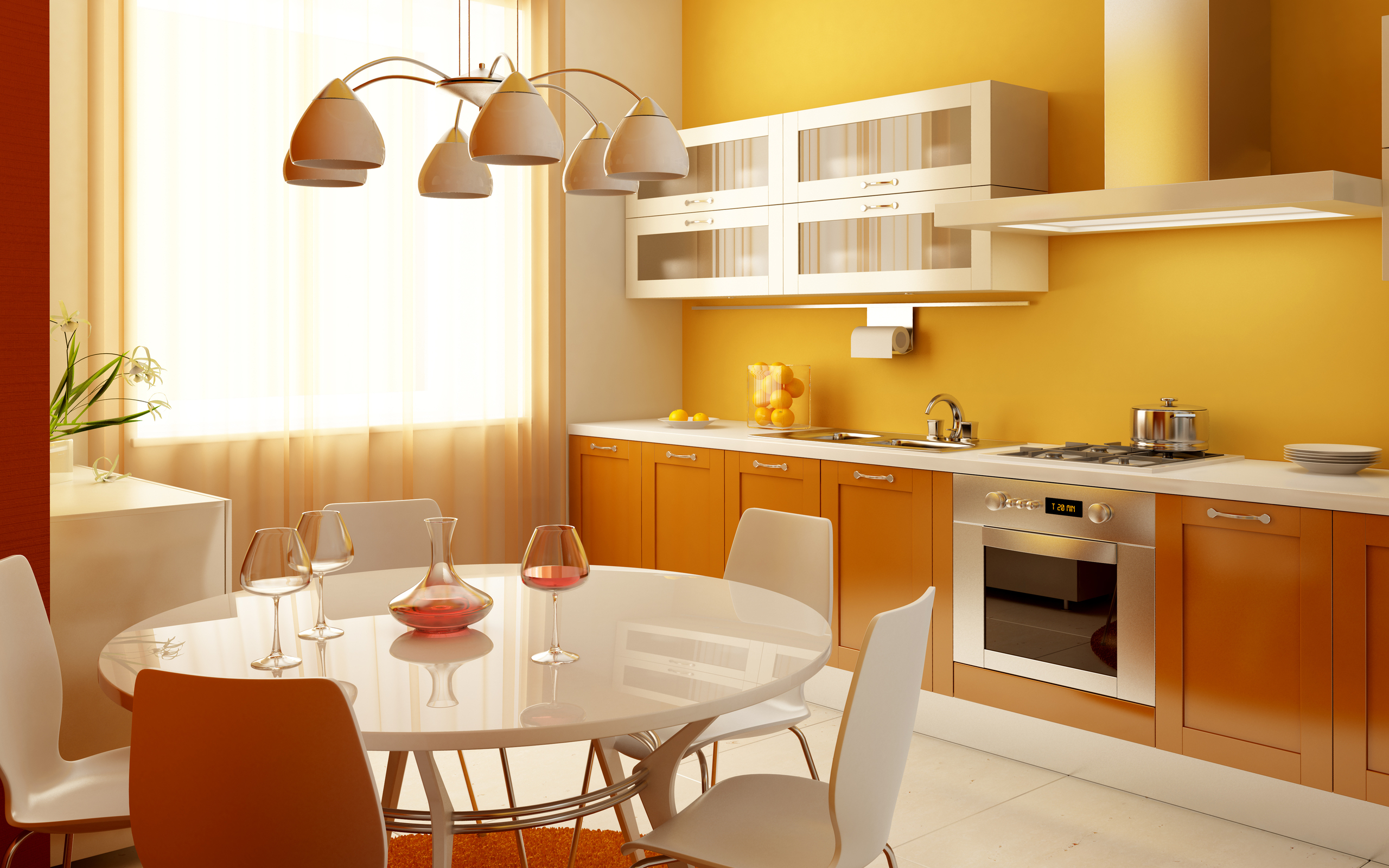 Color For Kitchen 3d Color Kitchen Wallpapers 2560x1600 2123255