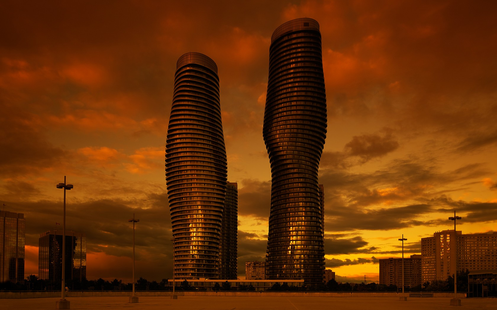 Absolute world towers wallpapers 1680x1050 290081 - Wallpaper architektur ...