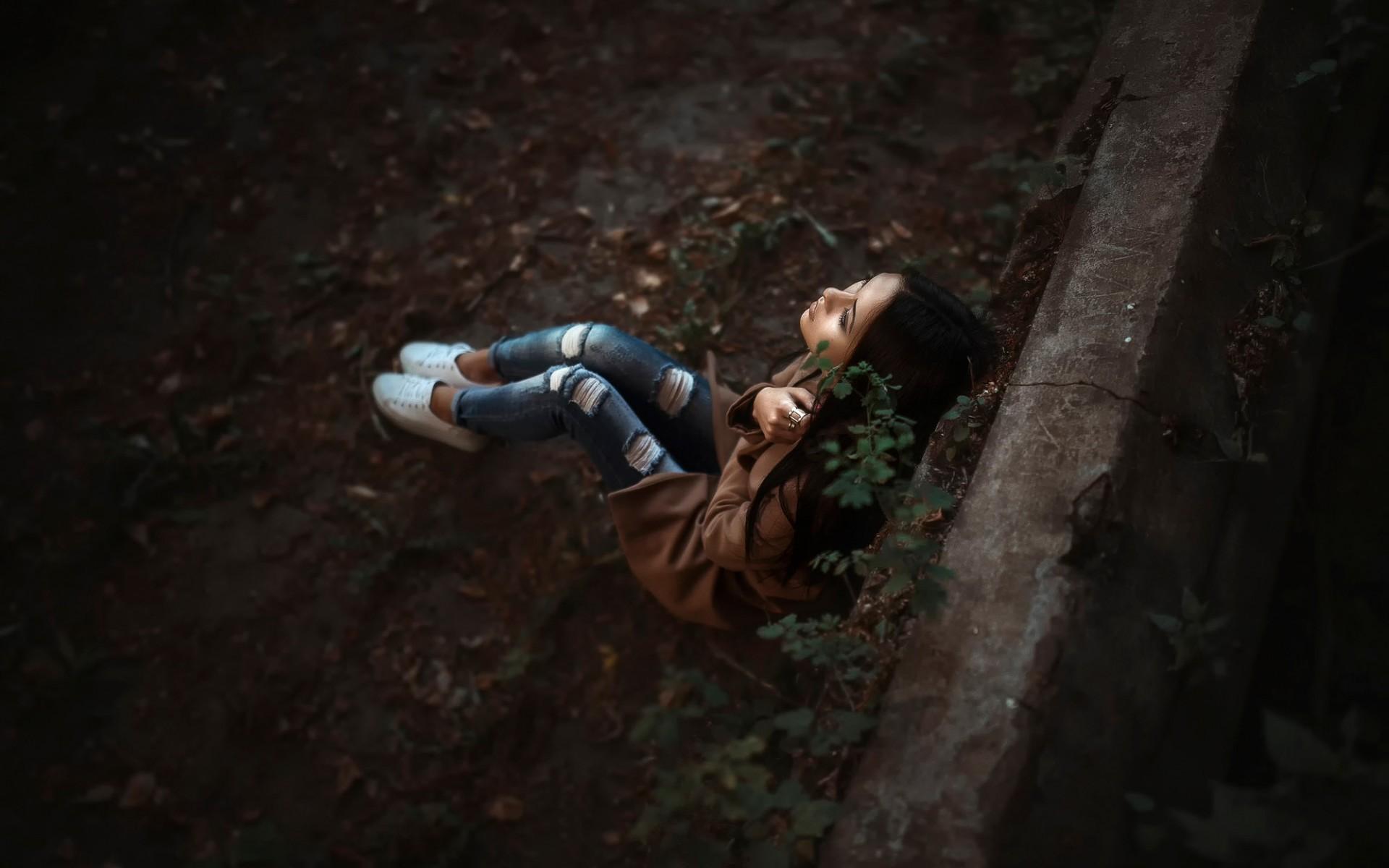 alone sad girl wallpapers