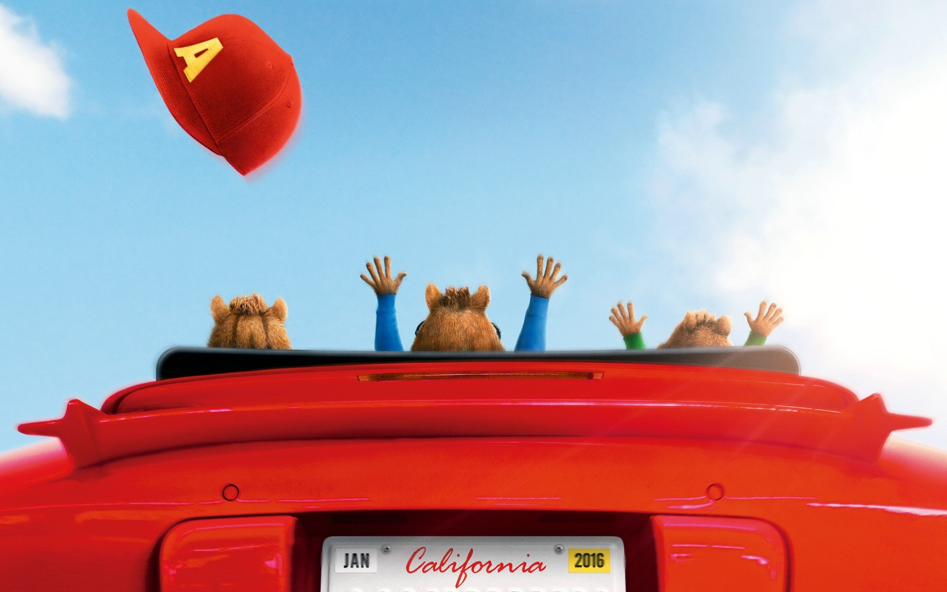Alvin And The Chipmunks The Road Chip Movie Wallpapers 1920x1200
