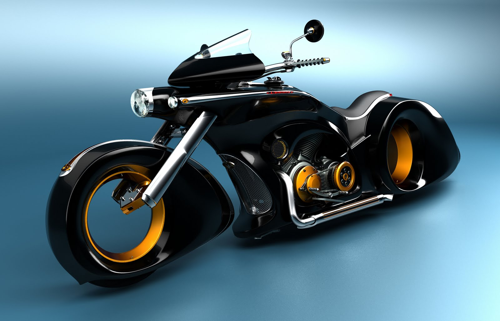Amazing Concept Bikes (click To View)