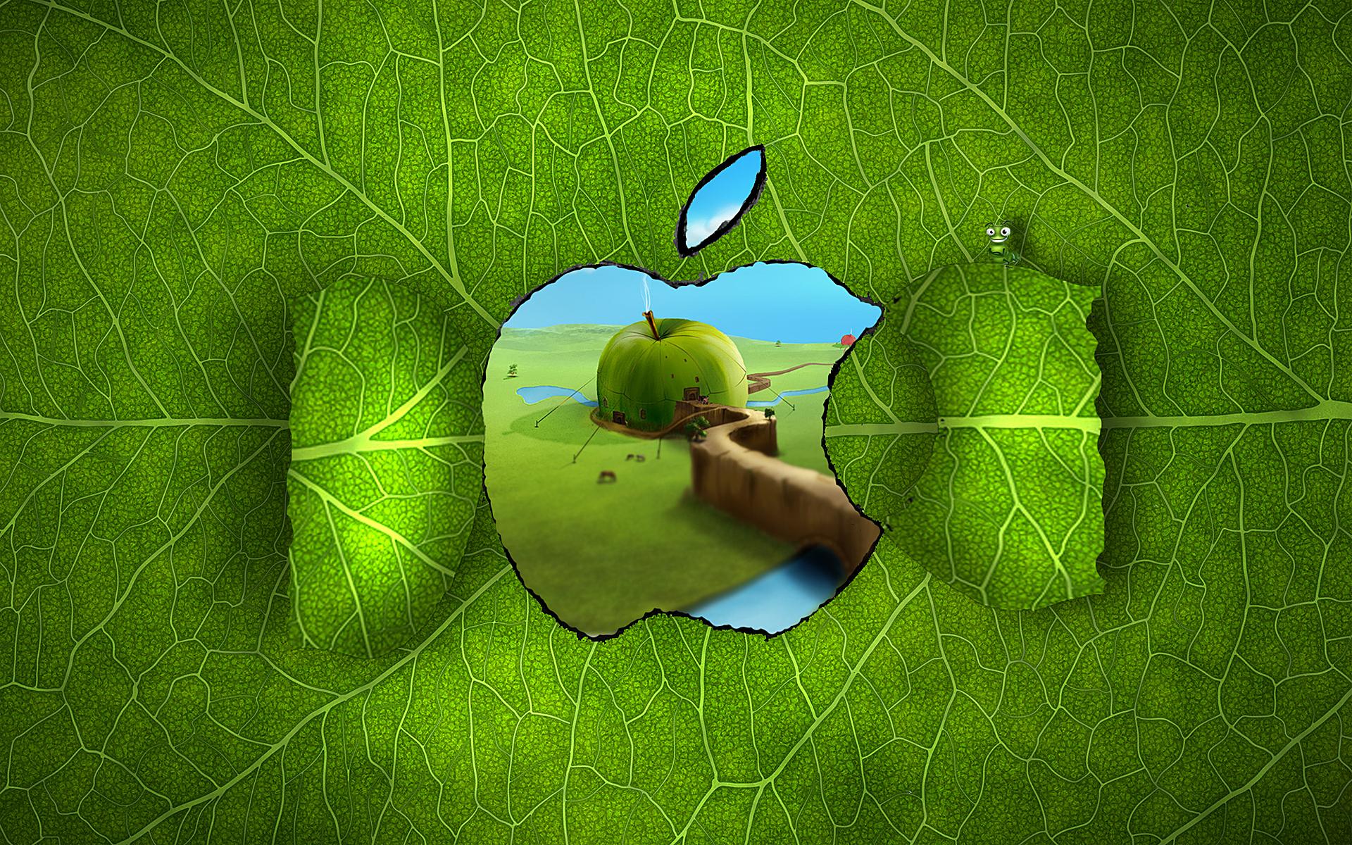 Download Wallpaper Apple Nature - apple_creativity-wide  HD_30437      .jpg