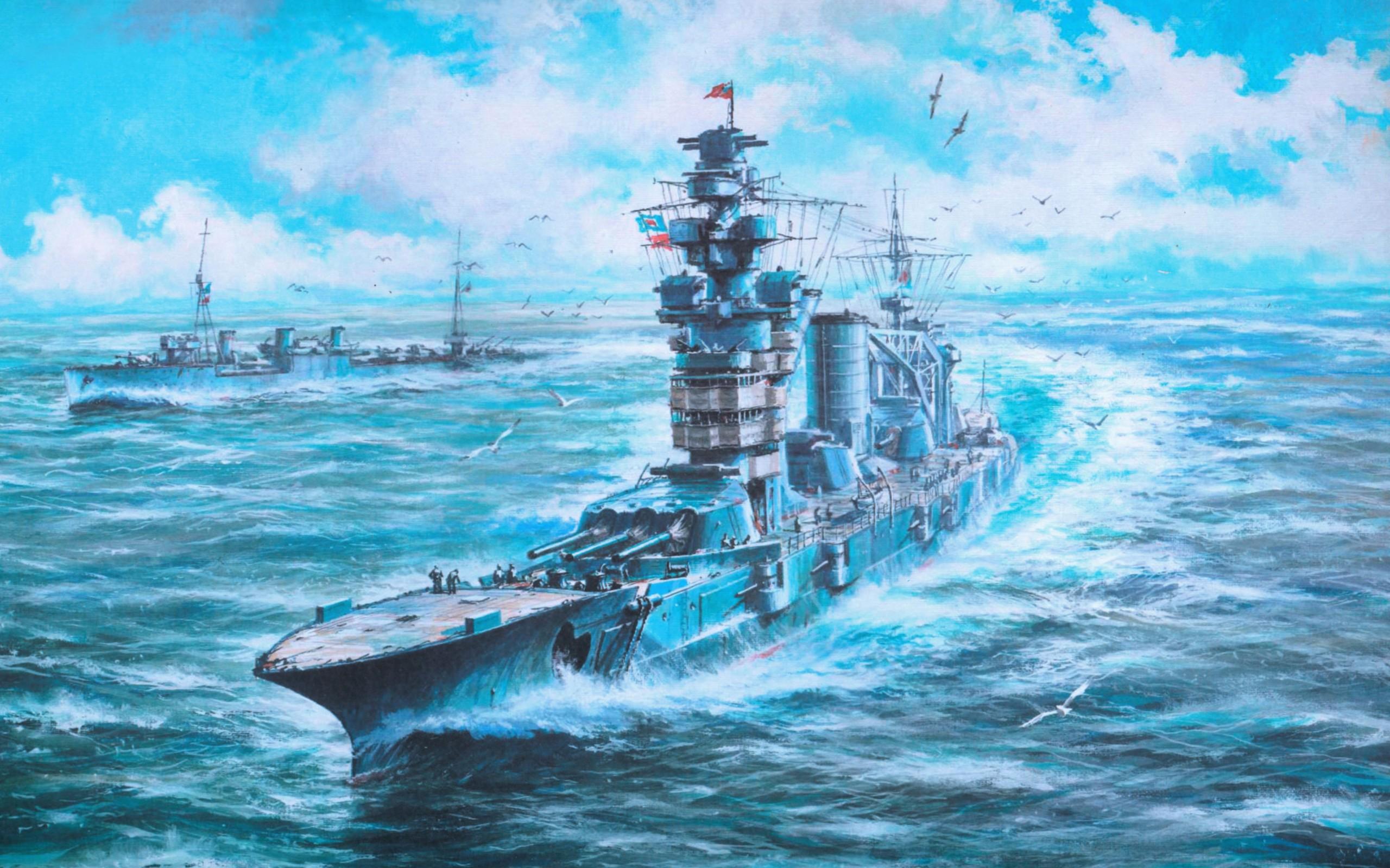 Art Sea Ship Wallpapers 2560x1600 829747