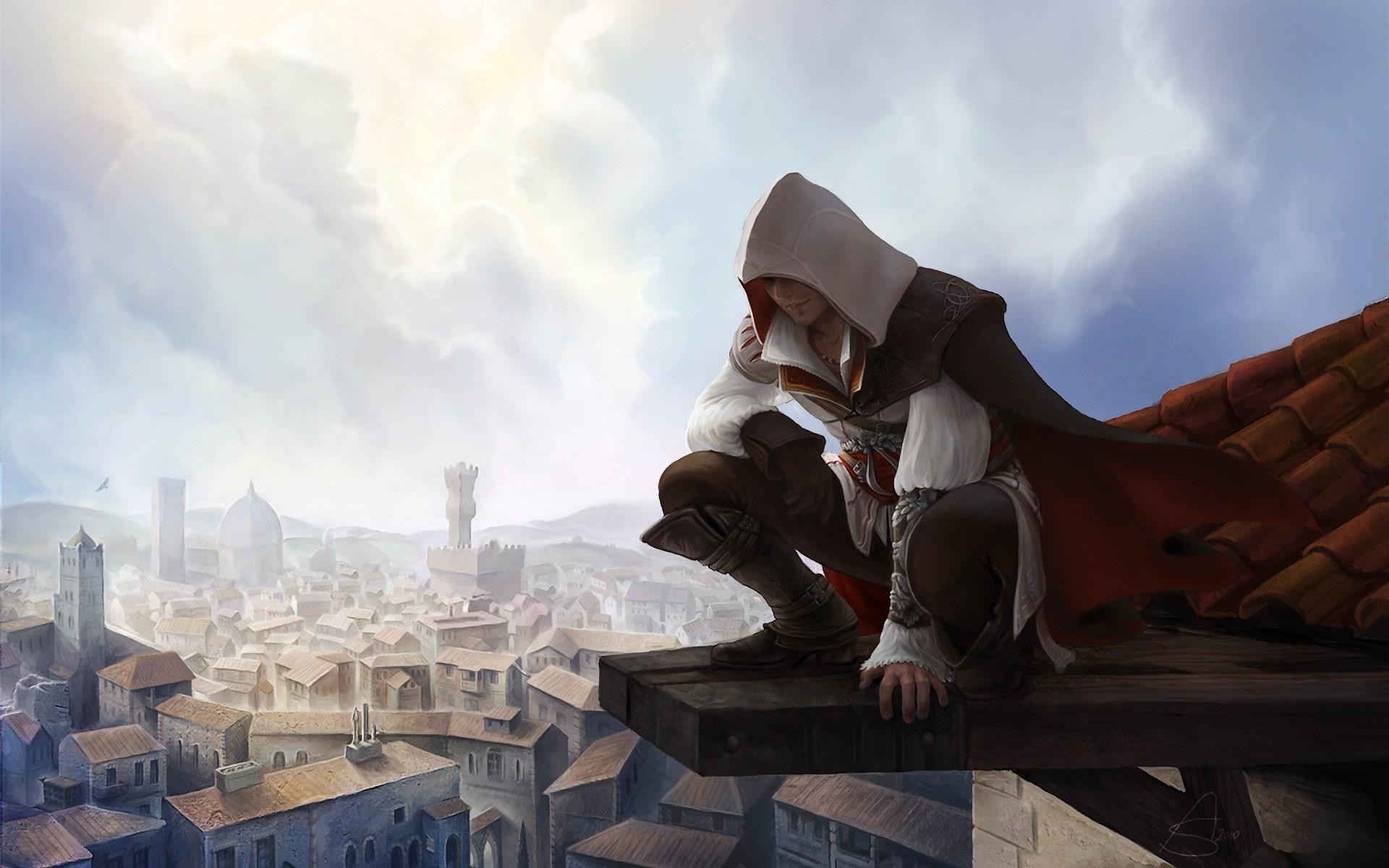 Assassins Creed Ii In Ezio Wallpapers 1920x1200 288321