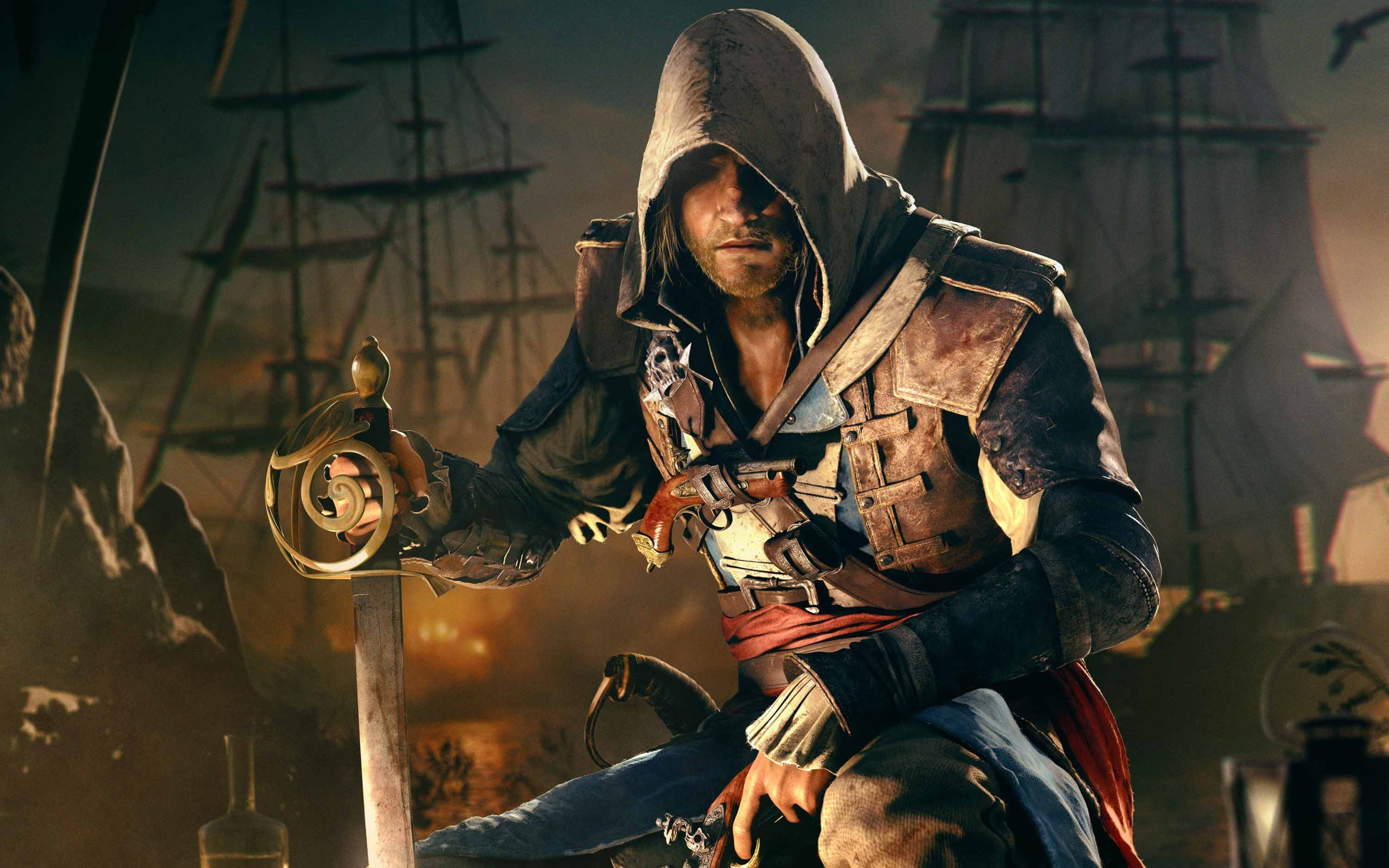 Assassin S Creed Iv Black Flag Wallpapers 2880x1800 654022