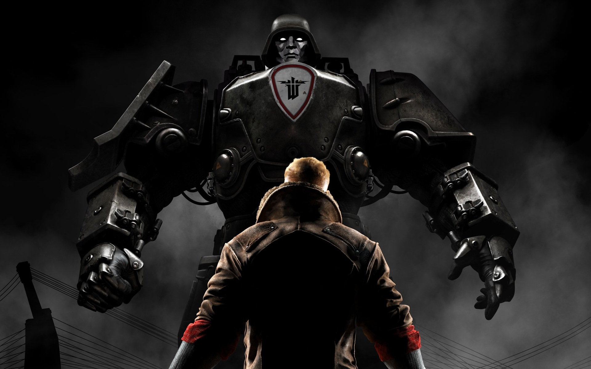 b j blazkowicz wolfenstein the new order wallpapers
