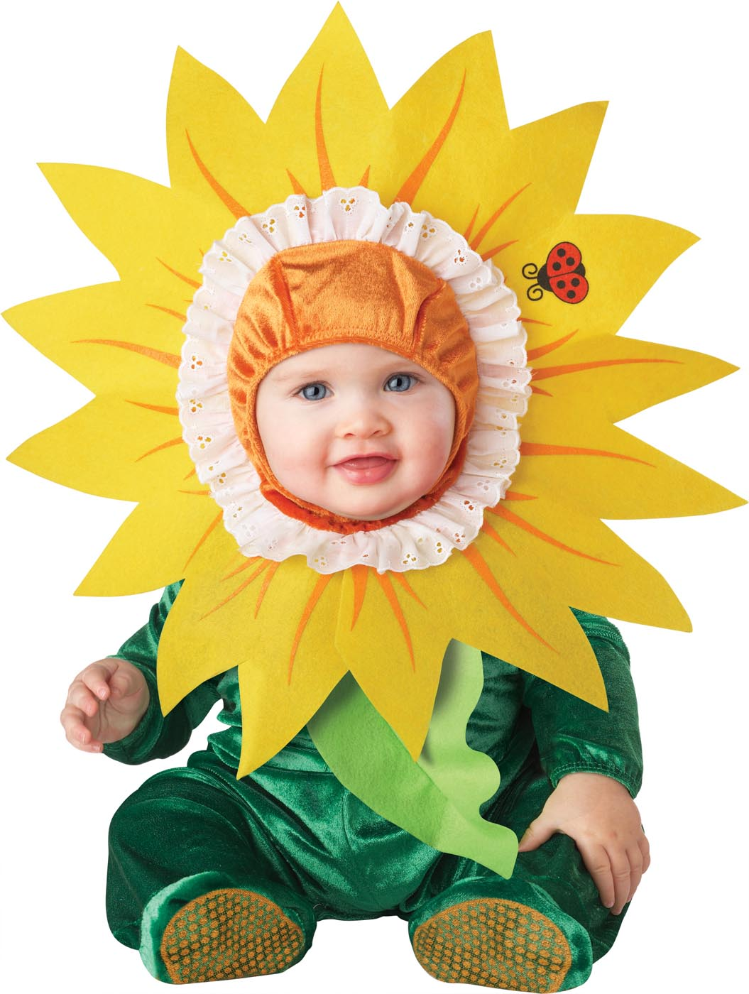 Baby Silly Sunflower Costumber
