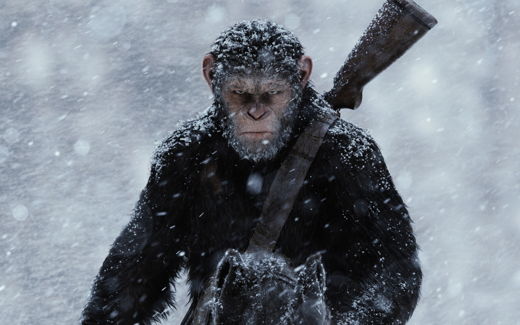Badass Caesar War For The Planet Of The Apes 2017 Wallpapers