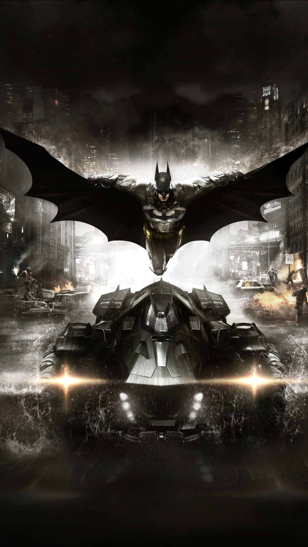 Batman Arkham Knight 2015 Game Wallpapers 1080x1920 454178