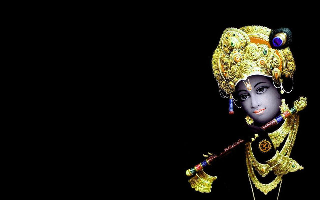 Black Lord Krishna Wallpapers