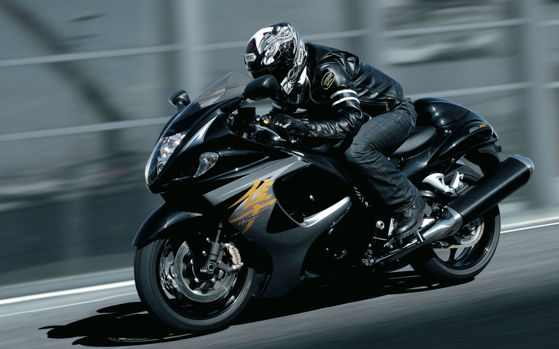 Black Suzuki Hayabusa 2016 (click To View)