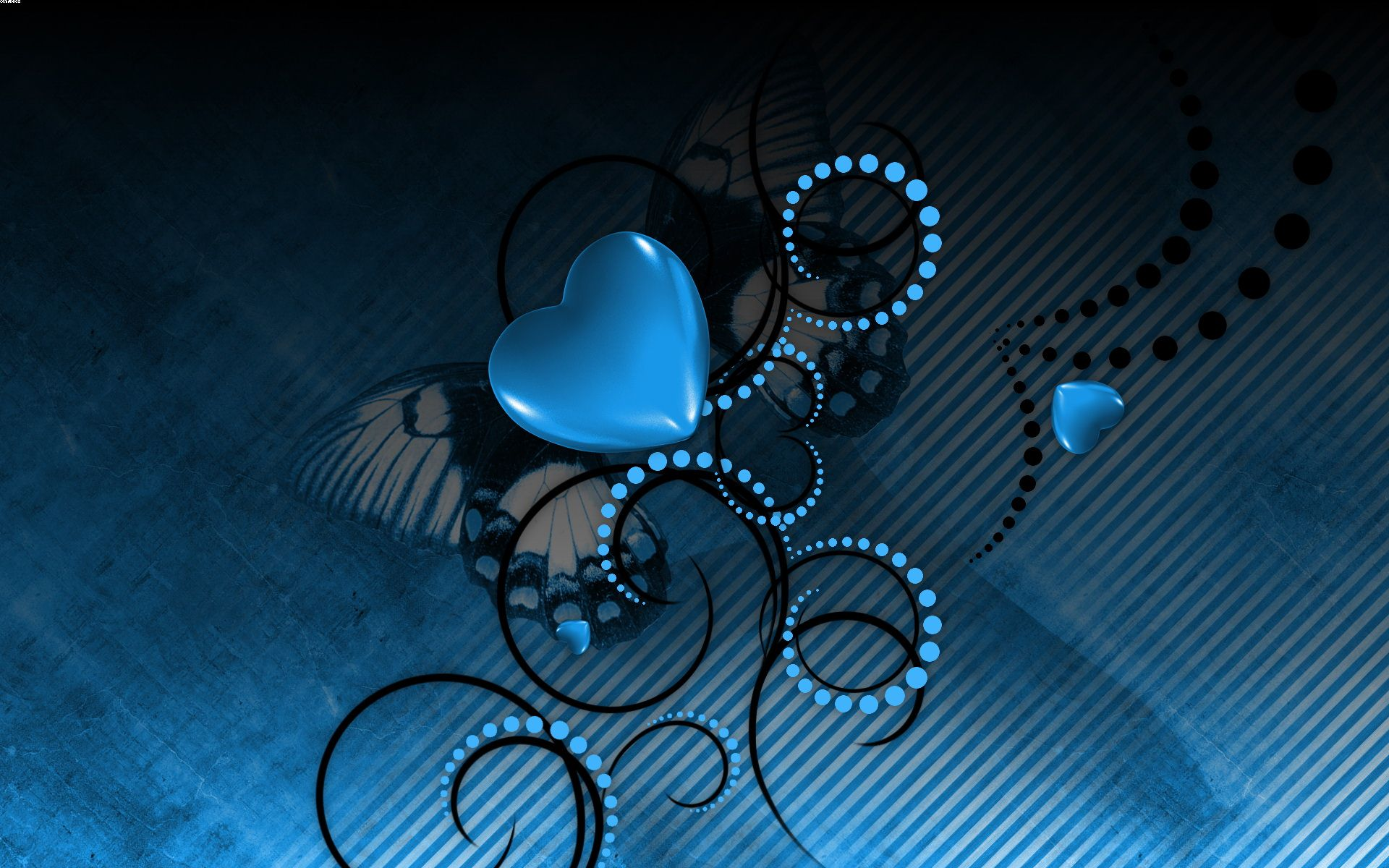 Good Wallpaper Love Blue - blue_love-wide  2018_873021.jpg