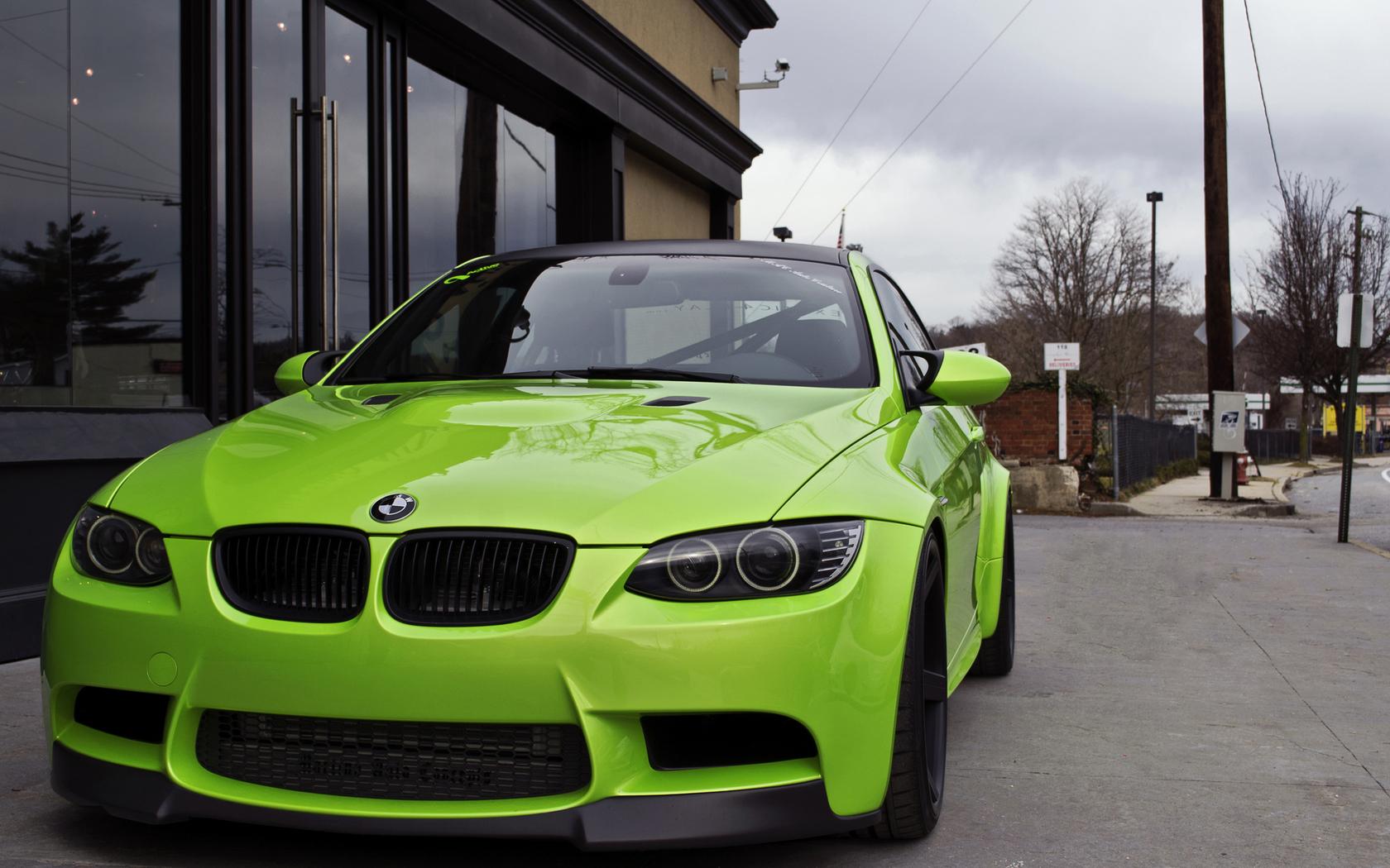 BMW M3 E92 Green