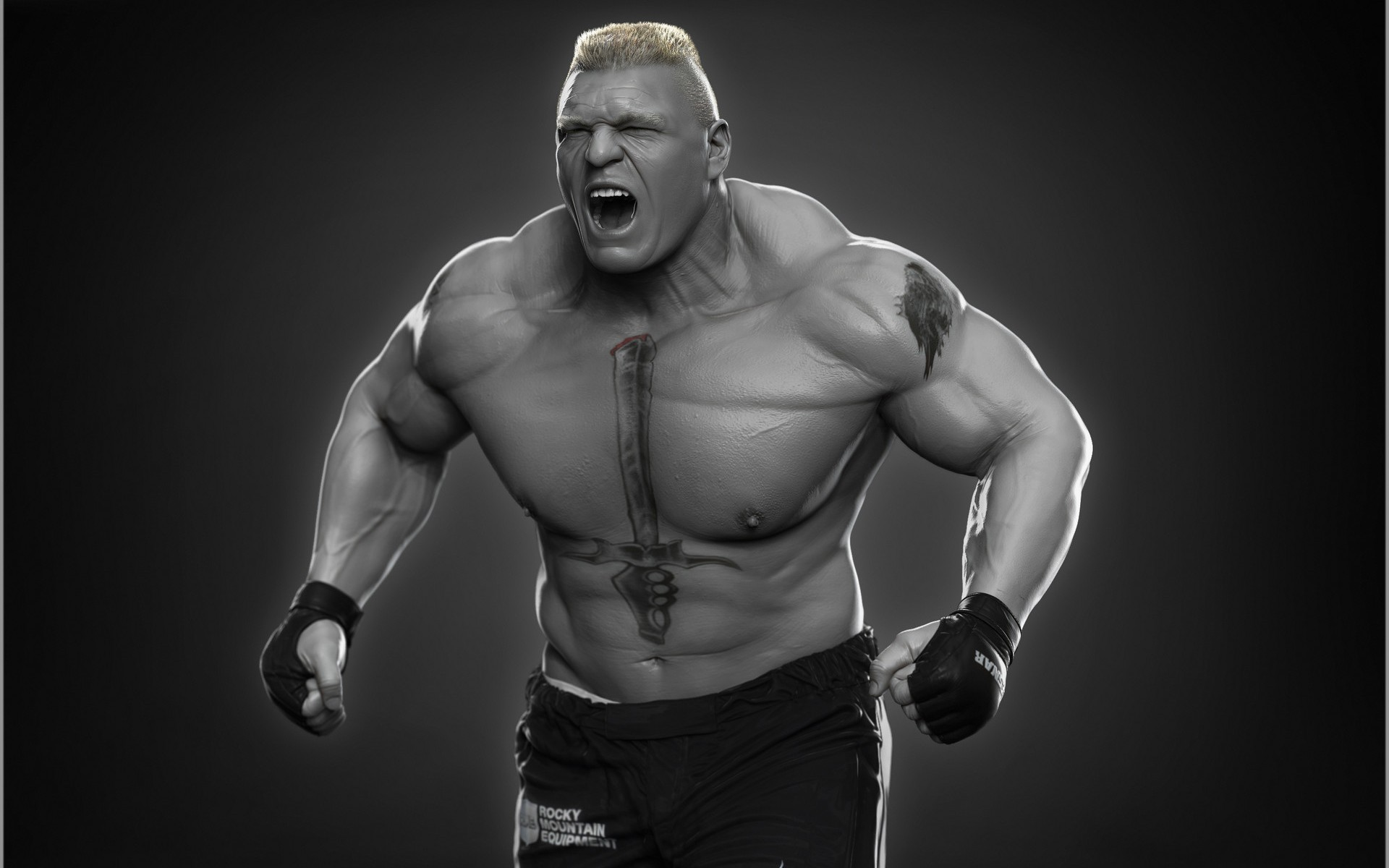 brock lesnar 3d wallpapers