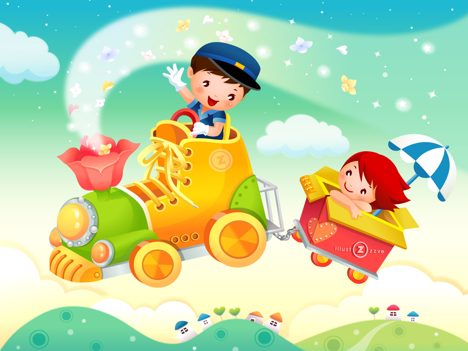 Cartoon for children 1600 x 1200 download close