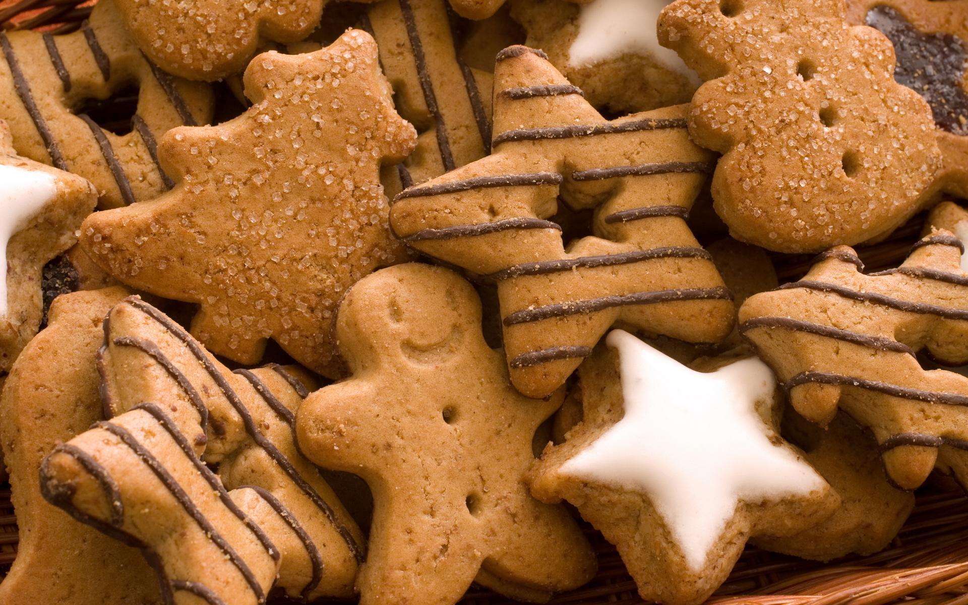 Christmas Cookies Wallpaper.Christmas Cookies Wallpapers 1920x1200 2301001