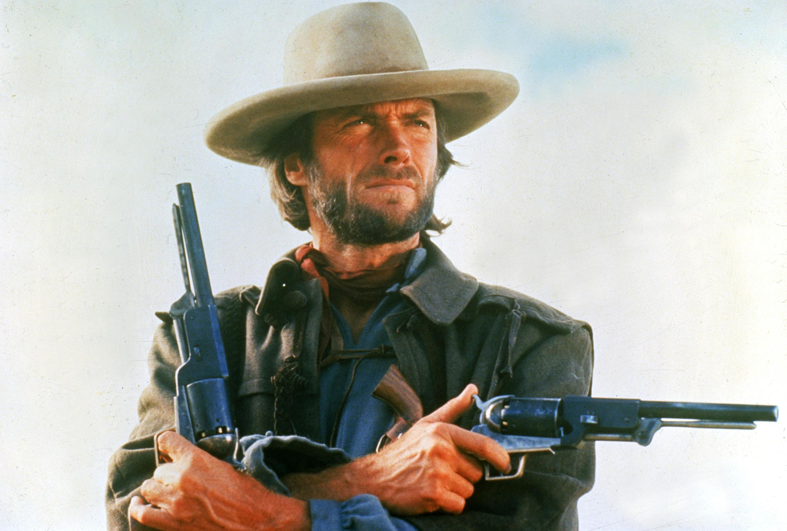 Clint Eastwood With Gu...