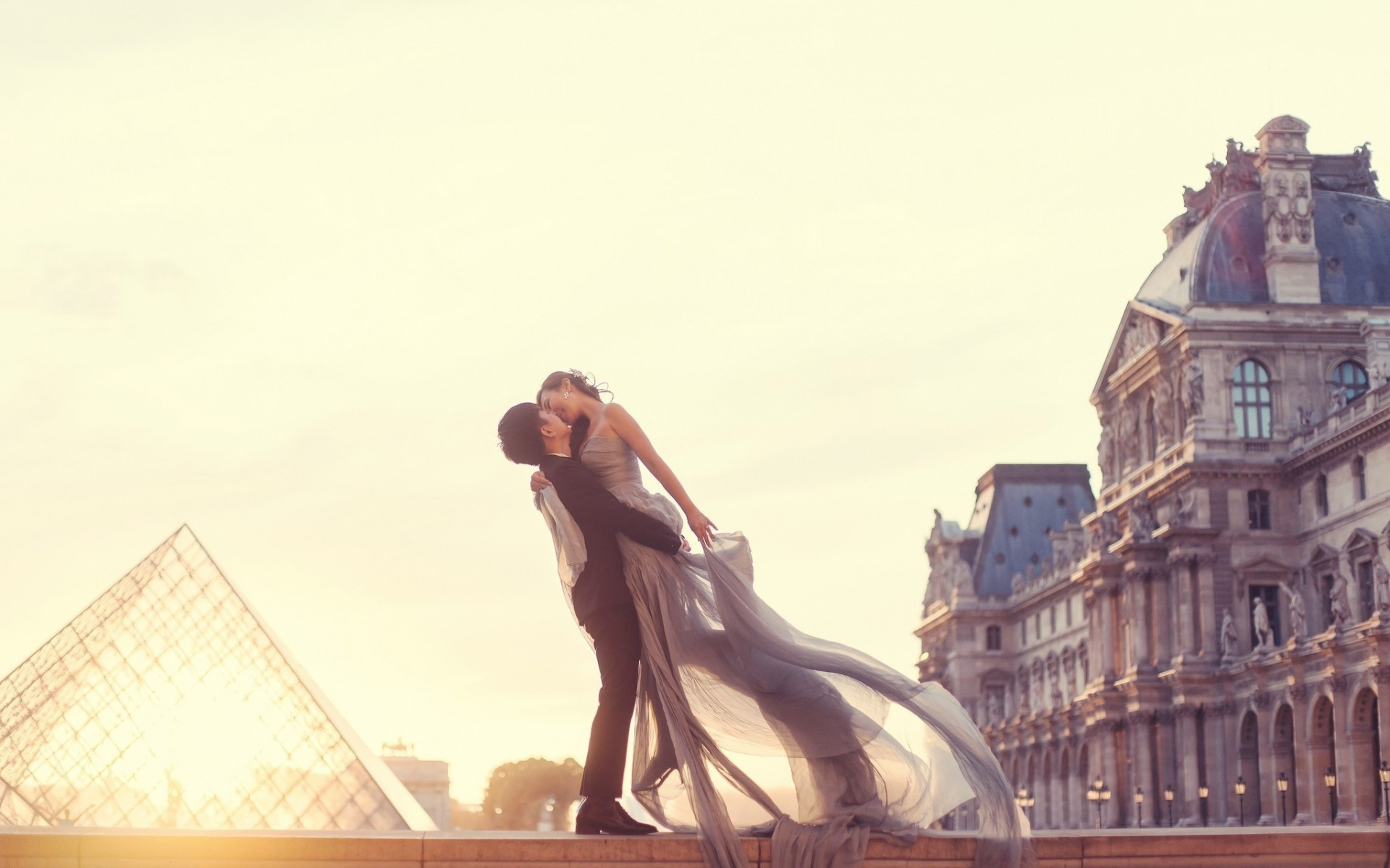 Couple In Love Paris