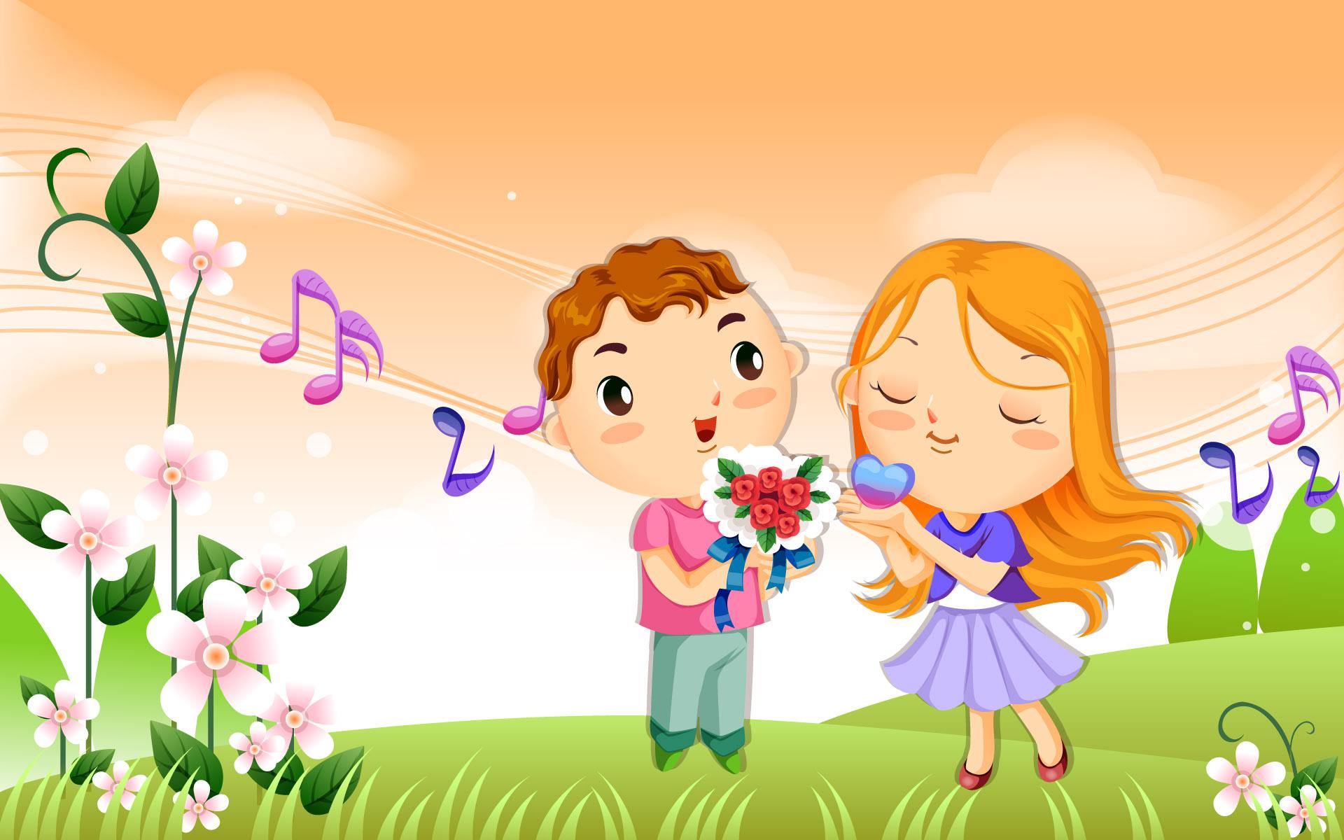 Cute Cartoon Couples