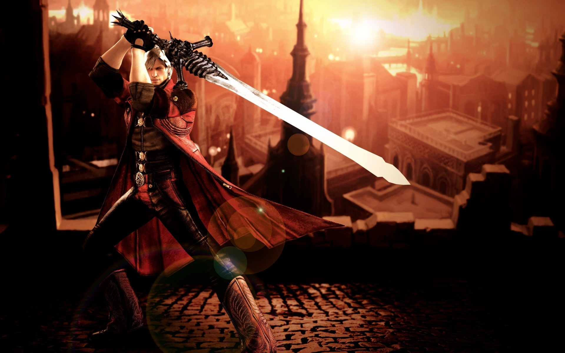 Devil May Cry 4 Dante Wallpapers