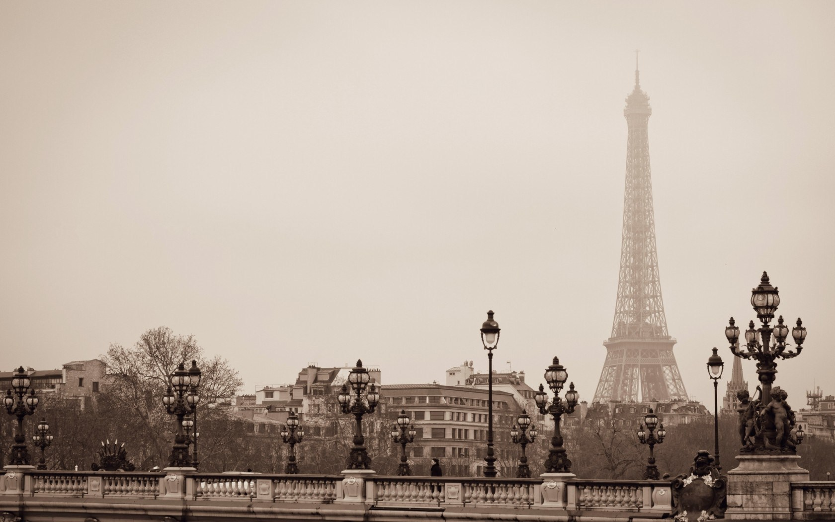 Eiffel tower paris france 1680 x 1050 download close